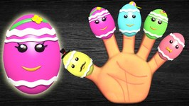 The Finger Family Song - Surprise Easter Eggs With Lyrics