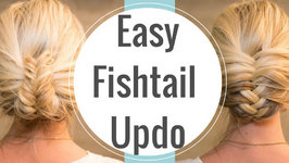 Easy Fishtail Upstyle