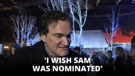 Quentin Tarantino talks Samuel L. Jackson's Oscar snub