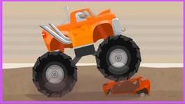 Secret Monster Truck - Car Doctor  Kid's Cartoons - Cartoon Car Repairs With Doc McWheelie