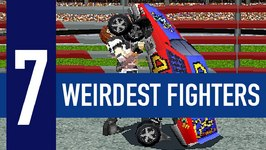 7 Weirdest Fighting Game Characters Ever Made