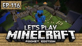 Survival Let's Play Ep. 116 - YOU CAN'T GET FLAME 2? - Minecraft PE -Pocket Edition