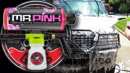 HOW TO WASH A CAR- Chemical Guys Foam Blaster 6 Gun Review And Mr. Pink Review