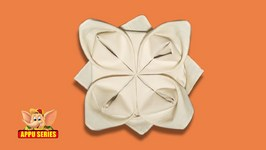 How to Fold a Rose Napkin