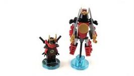 LEGO Dimensions Ninjago Nya Plus Samurai Mech Toy Fun Pack Review -71216