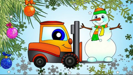 The Snowman Cartoon  Christmas Railway Train Locomotive And Construction Machines
