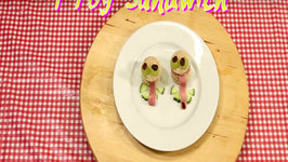 Fun With Sandwiches: The Frog
