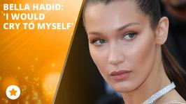Bella Hadid is proud of her mom!