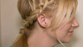 How to: Braided Back Ponytail