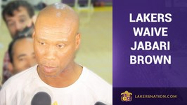 Lakers Waive Jabari Brown, Keep Metta World Peace