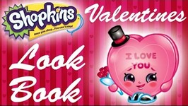 Shopkins Valentine's Day Lookbook - Candy Kisses, Cheeky Chocolate, MissTwist and More