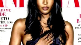 Naomi Campbell Gorgeous On Cover Vanity Fair