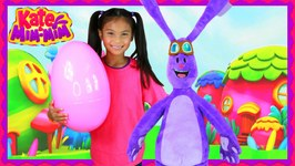 Kate & Mim-Mim Dress UP In Real Life IRL GIANT EGG SURPRISE TOYS Mimiloo