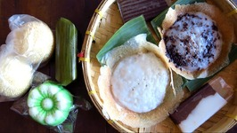 Indonesian street food taste test challenge - Eating Indonesian desserts And snacks in Solo, Indonesia