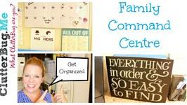 Family Command Centre - Back to School Organization
