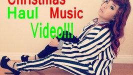 Christmas Haul Music Video