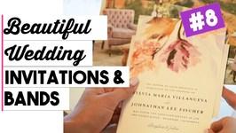 Wedding Invitations & Wedding Bands  Wedding Details  Wedding Wednesdays ep. 8