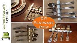 Diy Flatware Rest For Your Holiday Table