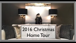 Christmas Decorating Home Tour  2016 Christmas at The Robesons