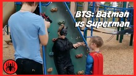 BTS  Batman Vs Superman Superheroes Battle In Real Life Movie  SuperHero Kids BTS 4