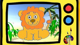 Learn To Draw A Lion In English For Kids
