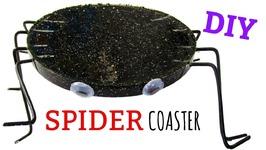 Fun Resin Spider Coaster  Halloween DIY  Another Coaster Friday  Craft Klatch