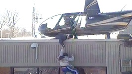 Helicopter Prison Break in Canada Caught on Video