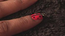 How To Paint Your Nails Like A Ladybird