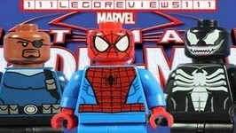 LEGO 2013 Marvel Super Heroes 76004 Spider-Man- Spider-Cycle Chase Review