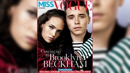 There Is A New Beckham On The Cover Of Miss Vogue