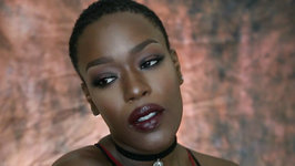 Fall Classic Vampy Makeup for Dark Skin