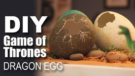 How To Make A Dragon Egg- Game Of Thrones Special- DIY Craft