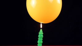 Baloon And Candle