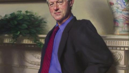 Artist Says He Hid Lewinsky Reference in Bill Clinton Portrait