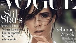 Victoria Beckham Lands German Vogue Cover