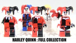 10 Years Of LEGO Harley Quinn Minifigures