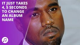 Kanye West has changed his album name yet again!
