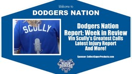 Dodgers Nation Report: Vin Scully's Greatest Calls, Injury Report, Seager Jersey Winner and More