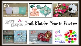 Craft Klatch- Craft and DIY 2015 Year in Review