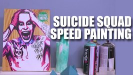 Mad Stuff With Rob - Suicide Squad Speed Painting  Official Merchandise Giveaway  VoxPop