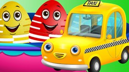 Surprise Eggs Toys  Public Transport Vehicles for Kids Part 2  Rickshaw, Tuk Tuk & more  ChuChuTV