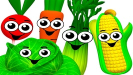 Island Vegetables Groove - Learn Names of Vegetables