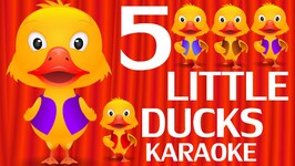 Five Little Ducks - Number Nursery Rhymes Karaoke Songs For Children  ChuChu TV Rock n Roll