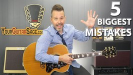 5 Biggest Mistakes When Practicing Guitar