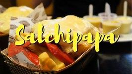 Salchipapas - Peruvian Fast Food in Lima, Peru