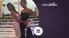 Victoria Beckham shares photo of the wedding dress she designed for Eva Longoria