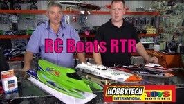 Thunder Tiger, Dragon, Atomic Brushless RTR RC Boats