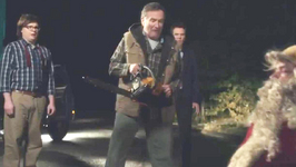 First look Robin Williams in Merry Friggin' Christmas