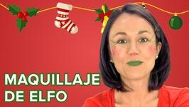 maquillaje de elfo de navidad para nios