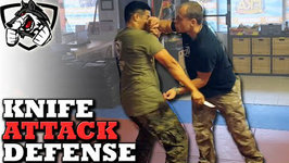 Knife Defense - How to Defend Against a Knife Attack